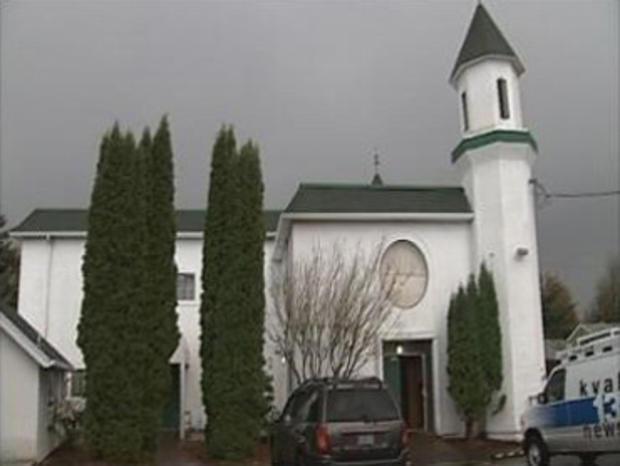 Arson at Oregon Bomb Plot Suspect's Mosque