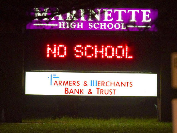 """Hostage Taker in """"Grave Condition"""" After Shooting Self at Marinette, Wis. High School, Says Chief"""