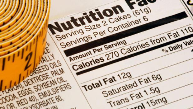 calories, food label, generic, 4x3