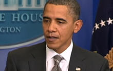 Obama Likens GOP to Hostage Takers