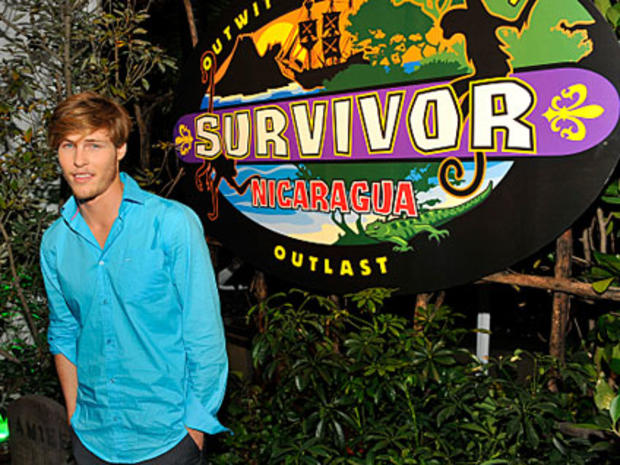 "Judson Birza on the red carpet at the Live Reunion Show of ""Survivor: Nicaragua."""
