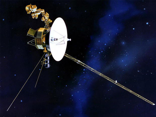 Voyager reaches the outer limits
