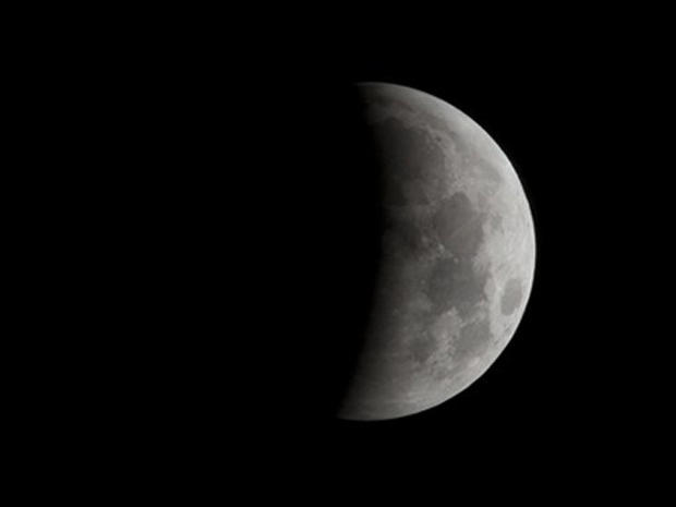 The Drama of a Total Lunar Eclipse