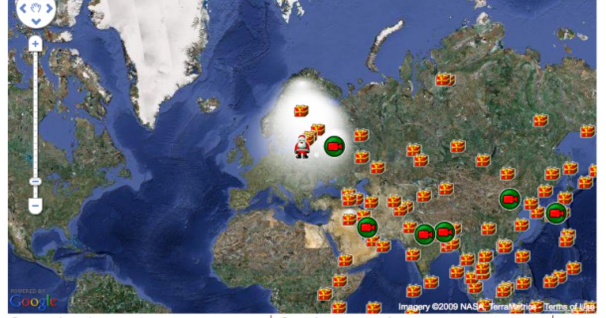 Behind the Scenes: NORAD's Santa Tracker - CBS News on santa visit, santa posters, santa schedule, santa home, baseball map tracker, santa satan,