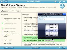 weight watchers, kitchen companion, ipad, app, 4x3