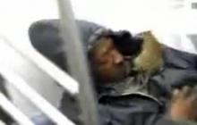 Rat Wakes Up Man on Subway