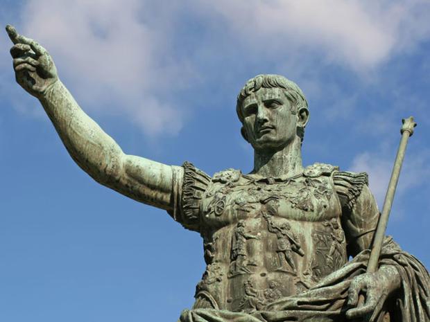 Caesar Augustus Statue Rome