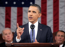 President Barack Obama delivers his State of the Union address