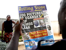 Rolling Stone Uganda anti-gay newspaper