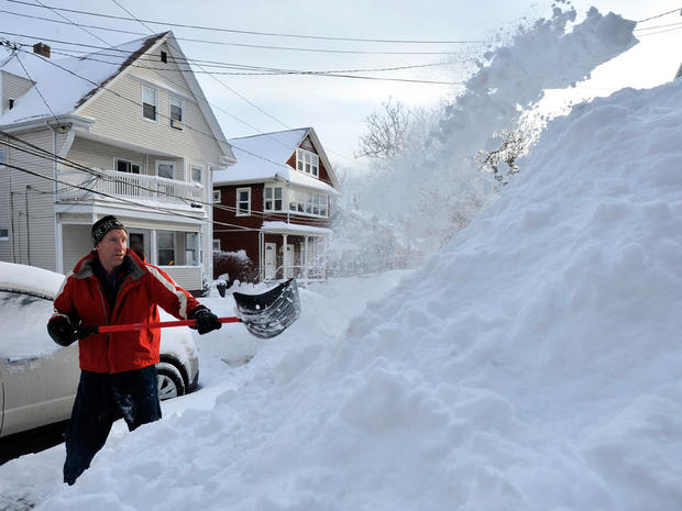 More Snow Blankets Northeast