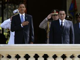 President Obama and President Mubarak