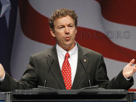 Sen. Rand Paul, R-Ky. addresses the Conservative Political Action Conference
