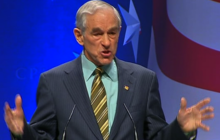 """Ron Paul at CPAC: U.S. in Egypt is """"Propping Up that Puppet Dictator"""""""