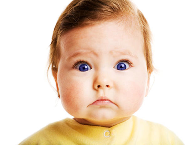 baby, blue eyes, child, boy, astonished, scared, fear, stock, 4x3
