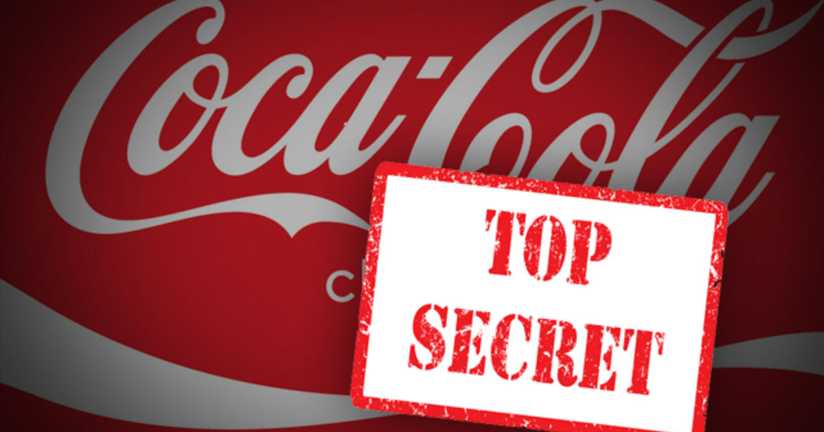 Coca-Cola Secret Formula Hidde...