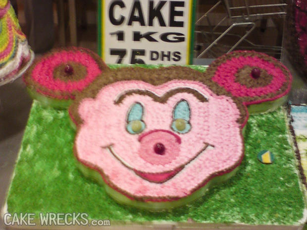 Worst kids birthday cakes