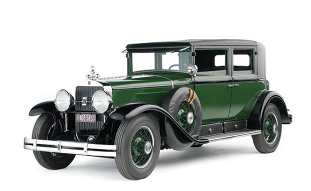 1928 Cadillac Al Capone Town Sedan President Franklin D