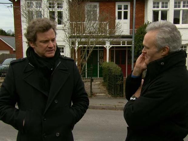 "Colin Firth on ""60 Minutes"""