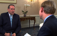 Huckabee on 2012, Wisconsin protests & DOMA
