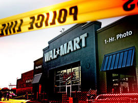 Wal-Mart shoplifting suspect told police he stole to repay bet