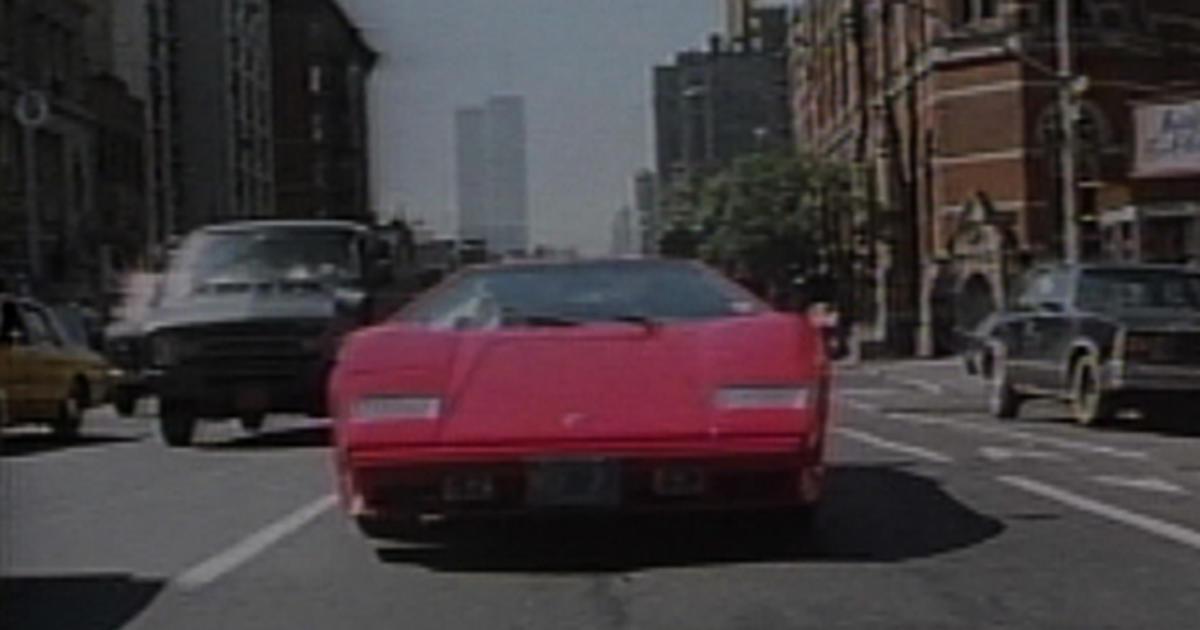 60 Minutes 1987 Lamborghini Cbs News