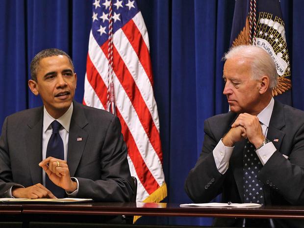 U.S. President Barack Obama and Vice President Joseph Biden