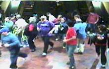 Turbo-speed escalator creates havoc