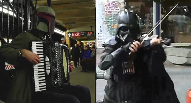 Boba Fett and Darth Vader
