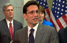 Cantor defends Rep. King's radicalization hearing