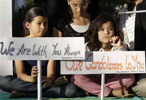 Vigils held for Japan