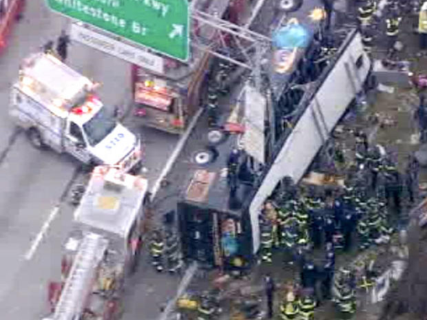 NYC bus accident