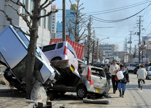 Devastation in Japan