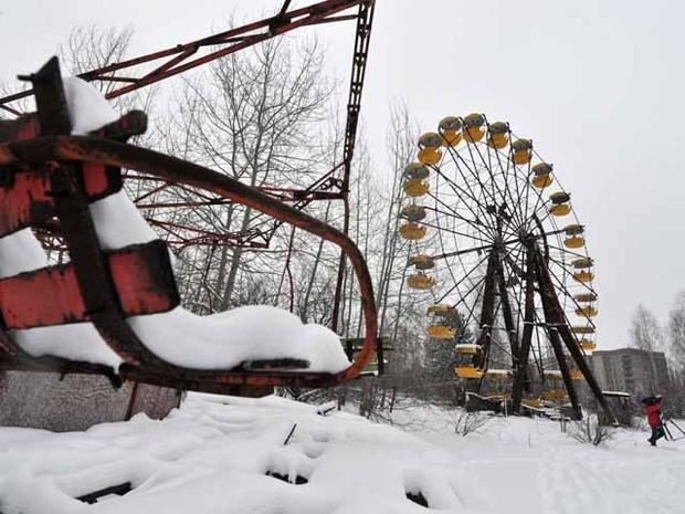 Chernobyl: Visit to a nuclear ghost town