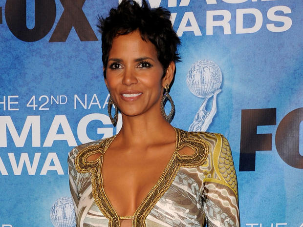 Halle Berry poses in the press room at the 42nd NAACP Image Awards on March 4, 2011, in Los Angeles.
