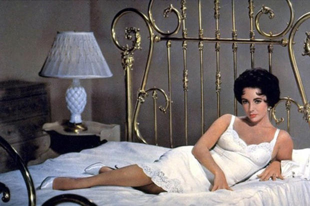 """Elizabeth Taylor in """"Cat on a Hot Tin Roof."""""""