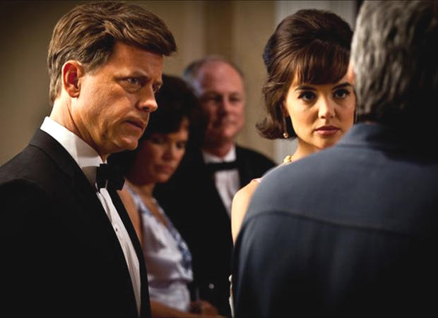 Greg Kinnear and Katie Holmes in The Kennedys