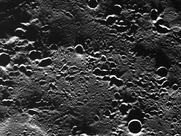 Mercury up close