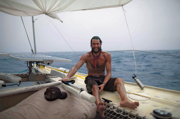 Tracking the Plastiki's  epic ocean journey