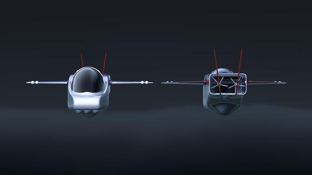 Virgin Oceanic's deep-sea submersible