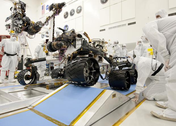 Meet the new Mars rover