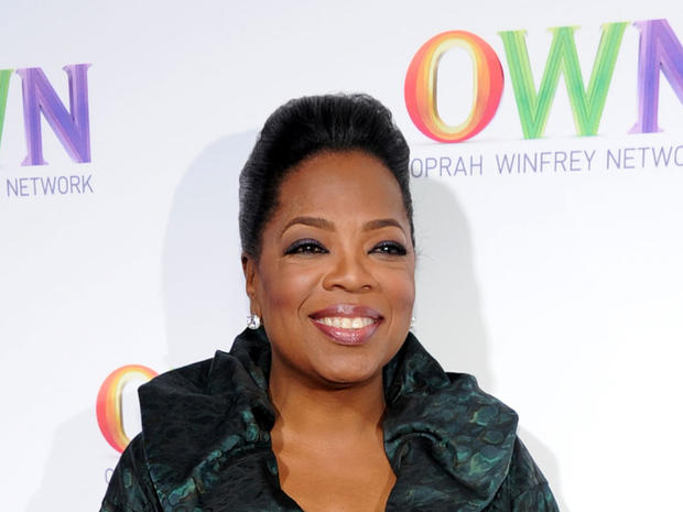 Oprah Winfrey at the OWN
