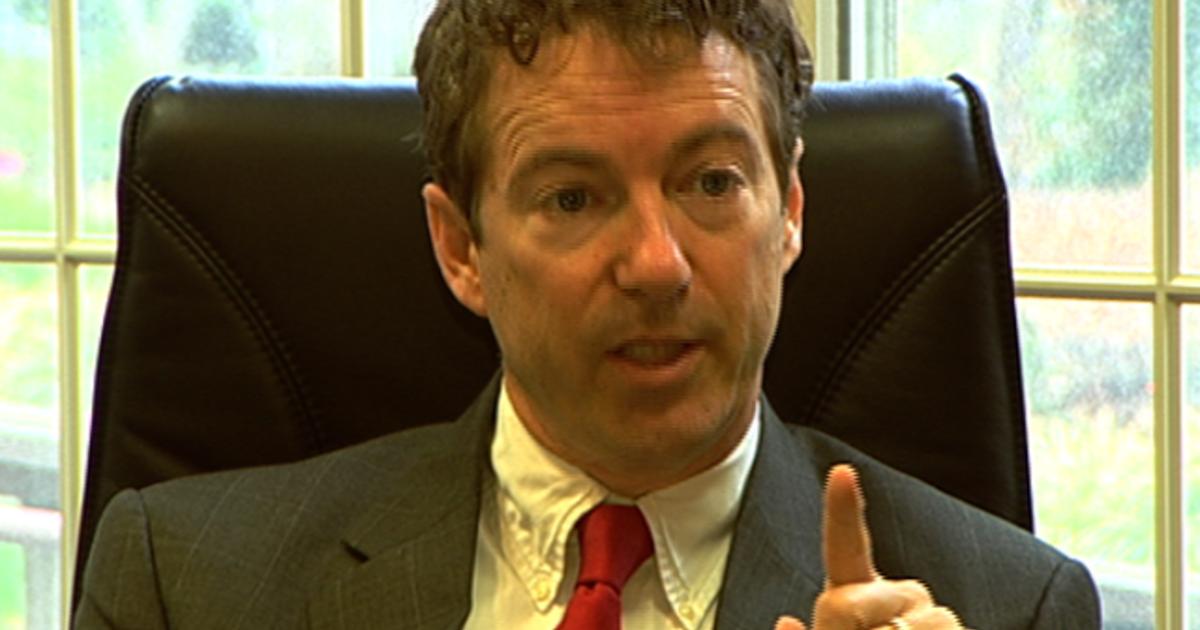 Sen. Rand Paul: Obama's not a leader