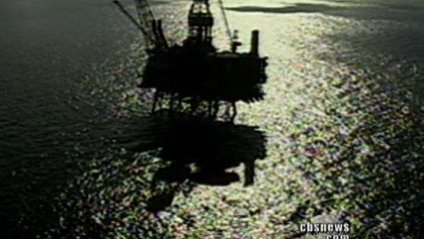 A Gulf of Mexico oil rig