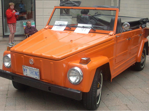 15 volkswagen thing world s 15 ugliest cars pictures cbs news 1970 Volkswagen Scirocco