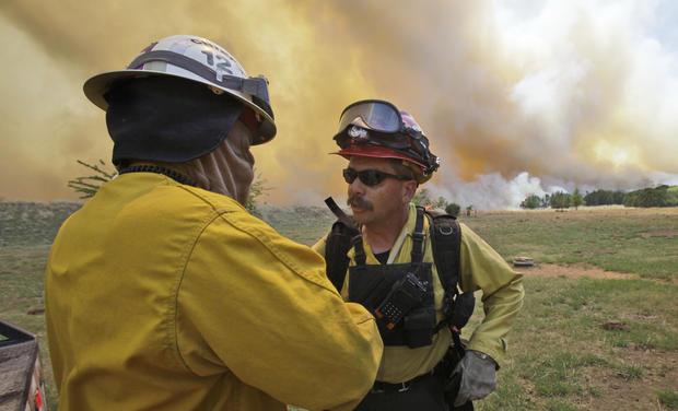 Texas wildfire