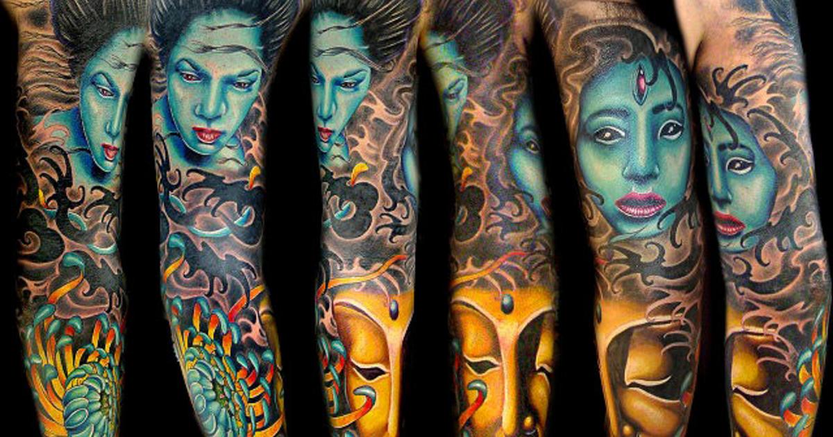 57d21da2071ee5 12 celebrity tattoo artists - Photo 1 - Pictures - CBS News