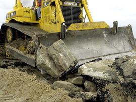 Boys drive excavator at Pa. mine, smash bulldozer