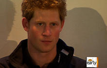 Prince Harry travels to North Pole for charity
