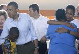 Barack Obama, Michelle Obama, Alabama