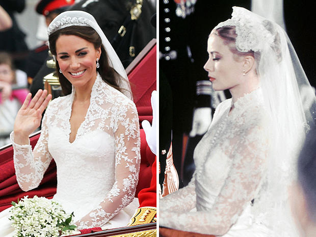 Kate Middleton and Grace Kelly